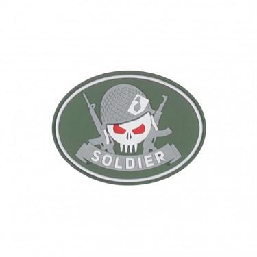 """Патч ПВХ professional """"Soldier"""" - фото 20546"""