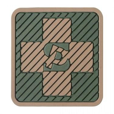 """Патч ПВХ """"Медицинский крест"""" (45х45 мм) - фото 20554"""