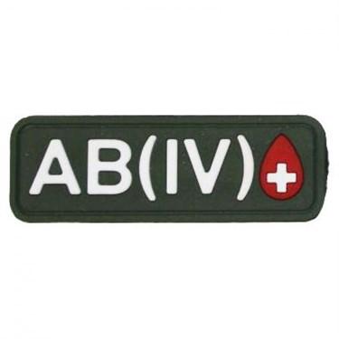 """Патч ПВХ """"Группа крови"""" AB (IV) Rh+ - фото 20598"""