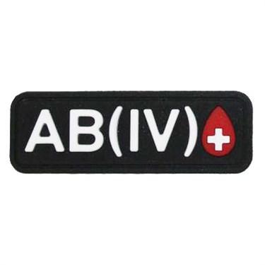 """Патч ПВХ """"Группа крови"""" AB (IV) Rh+ - фото 20599"""