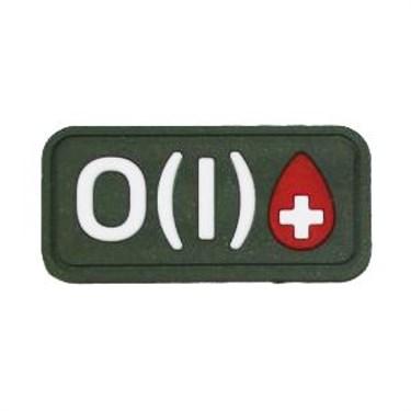 """Патч ПВХ """"Группа крови"""" O (I) Rh+ - фото 20616"""