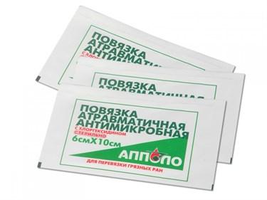 Повязка антимикробная с хлоргексидином - фото 20902