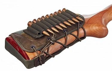 Патронташ на приклад на 10 патронов (7,62 кбр) ЛАЙТ - фото 21610