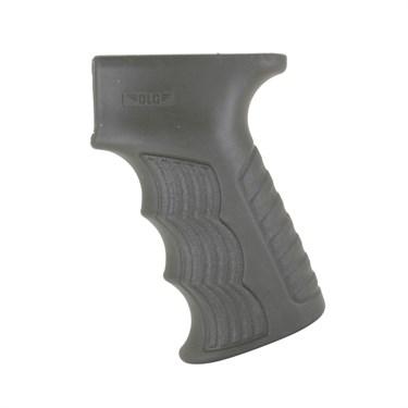 Пистолетная рукоятка на АК, прорезиненная с контейнером. - фото 21652