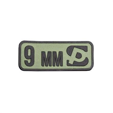 """Патч ПВХ """"Калибр 9 мм"""" - фото 21928"""