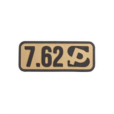 "Патч ПВХ ""Калибр 7.62"""